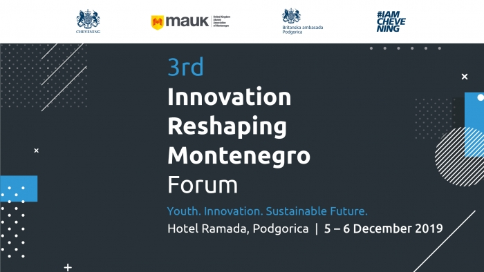 Third Innovation Reshaping Montenegro Forum to be held in Podgorica